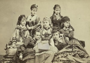 Lydia Thompson and the British Blondes toured the US in 1860 a revolutionized how we viewed Burlesque.